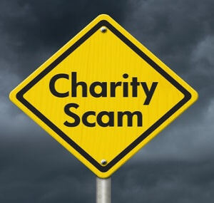 Scam – Charities Raising Money