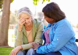 Helping People with Alzheimer's Disease Through Bereavement