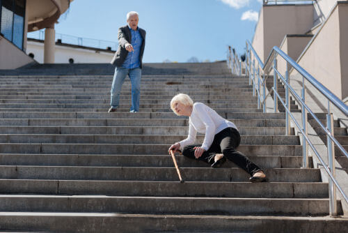 Preventing falls by elderly in Austin, Texas